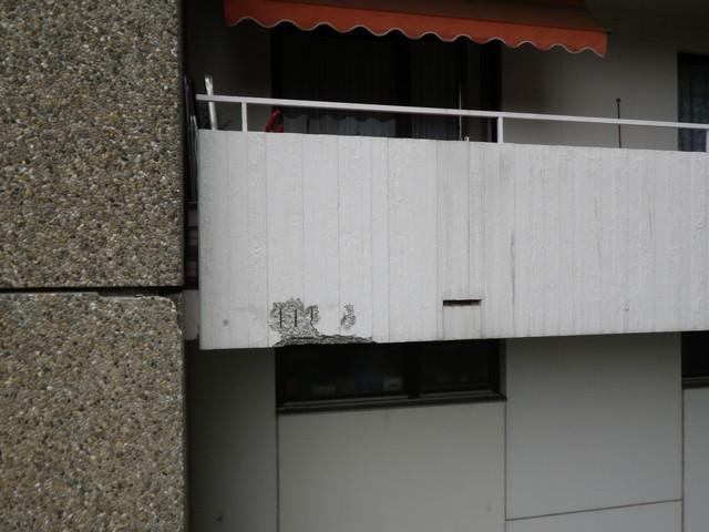 Balkon schadhaft sanieren